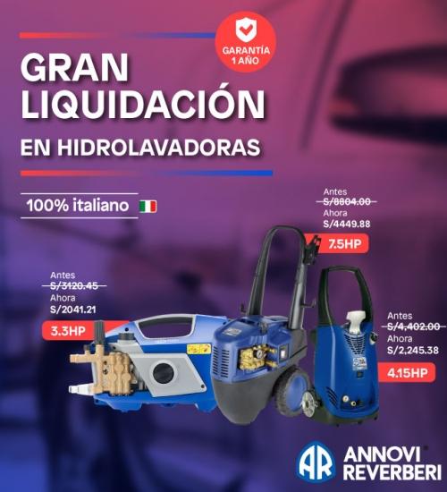 Promo Annovi hidrolavadoras